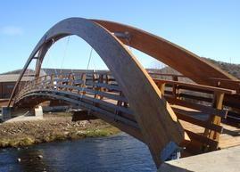 Puentes de madera. Puente Madera. Pasarela madera. Wood Bridge. Timber Bridge. Footbridge. Wood. Madera. www.mediamadera.com