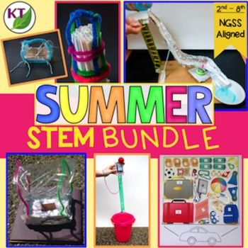 It can be so difficult to keep kids engaged in the last weeks of the school year. Summer STEM challenges are here to the rescue!The basic premise: Students work in partners or groups against criteria & constraints lists to design and build Summer themed objects.