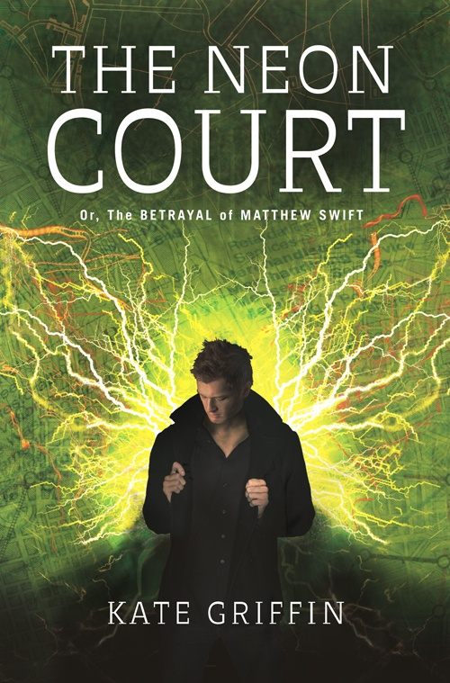 The Neon Court by Kate Griffin. Part of the Urban Magic series, one of my favorites. Reviewed here: http://bastardbooks.blogspot.com/2012/05/bastard-quick-reactions-kittys-big.html