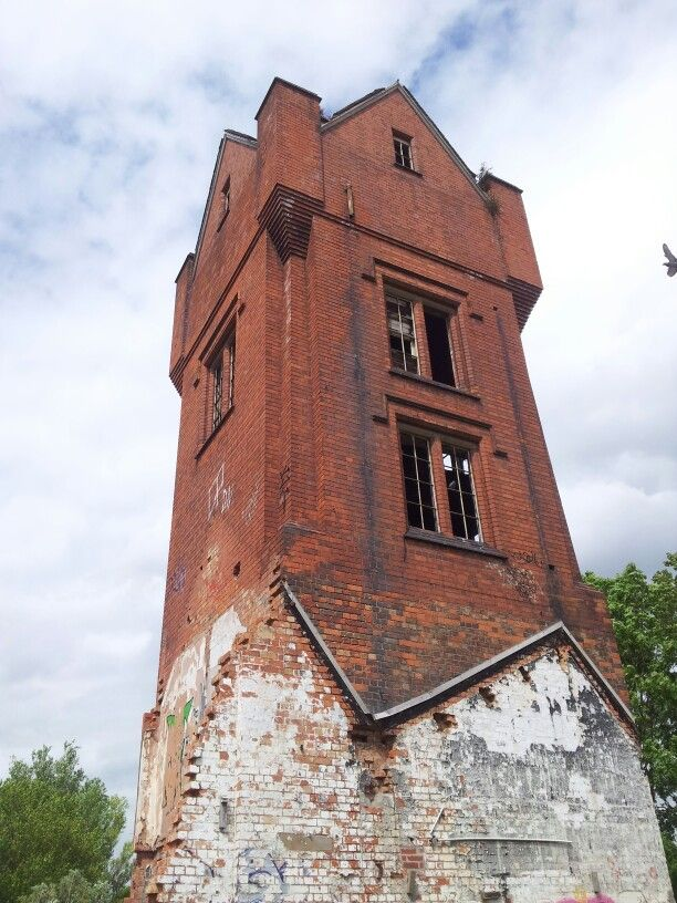 Abandoned Tower On The Old Wolsey Site In Leicester