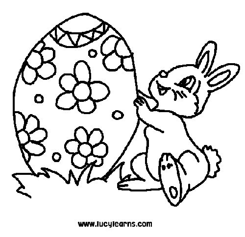 Easter Round Up Printable Coloring Pages For Kids