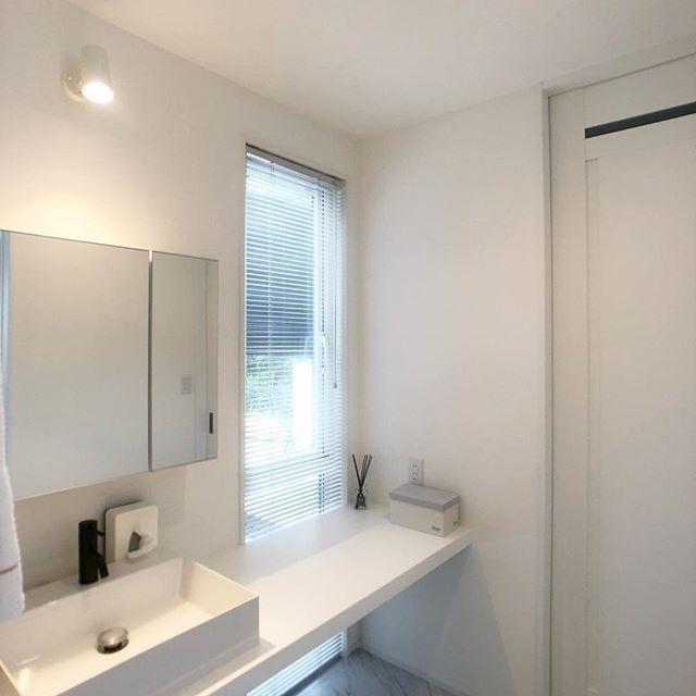 サンワカンパニーのある暮らし サンワカンパニー バスルーム 洗面