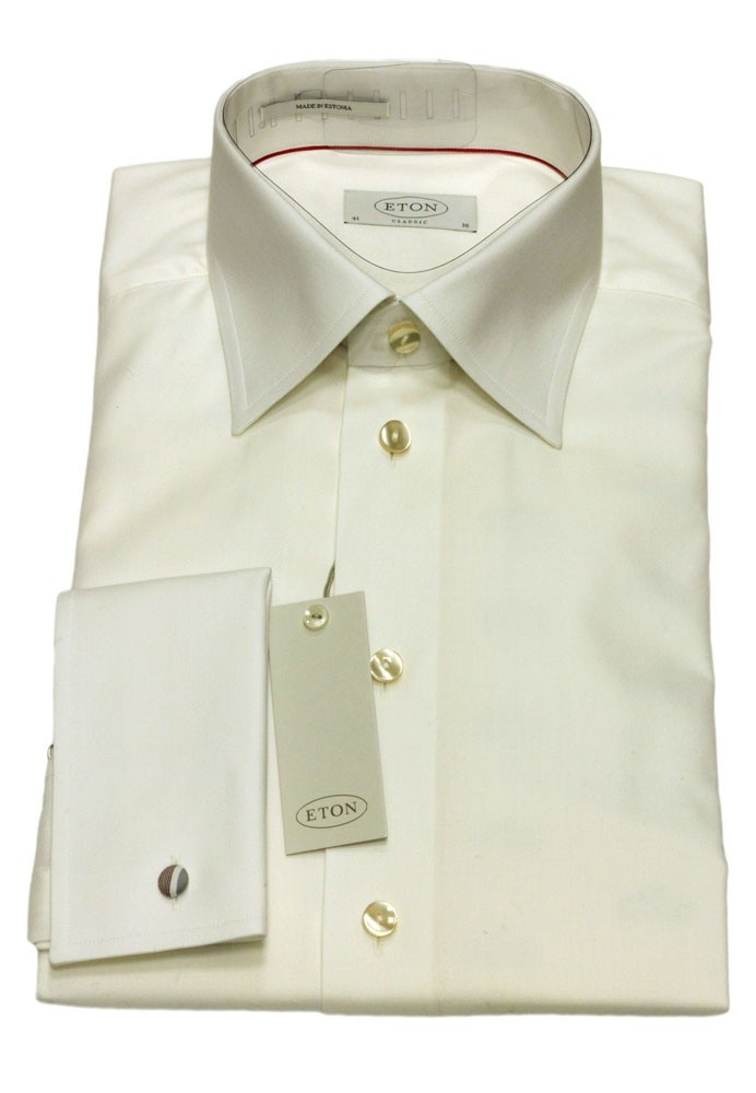 cream dress shirt ejn dress