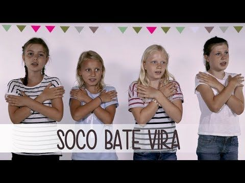 Soco Bate Vira   Klatschspiele Anleitung - YouTube