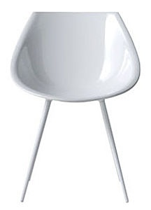 contemporary chair LAGO' by Philippe Starck DRIADE