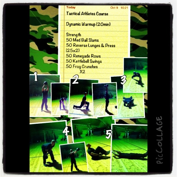 Tactical Athletes Course - 9Oct12