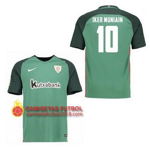 Segunda camiseta IKER MUNIAIN del Athletic Bilbao 2016 2017