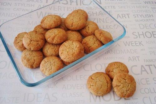 Biscuits aux amandes faciles et rapides pour utiliser des jaunes d'oeufs que l'on a en trop