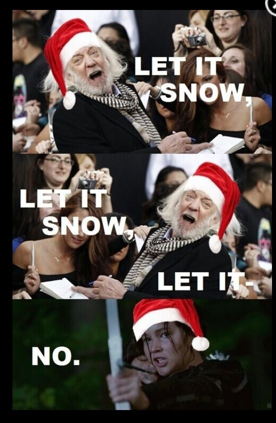 "This Christmas card: | 17 Jokes Only ""Hunger Games"" Fans Will Understand"