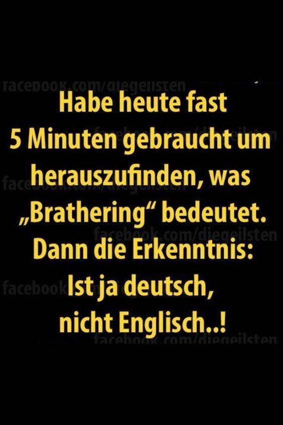 Falsche Freunde Deutsch Und Englisch Deutsch Witzige Sprüche
