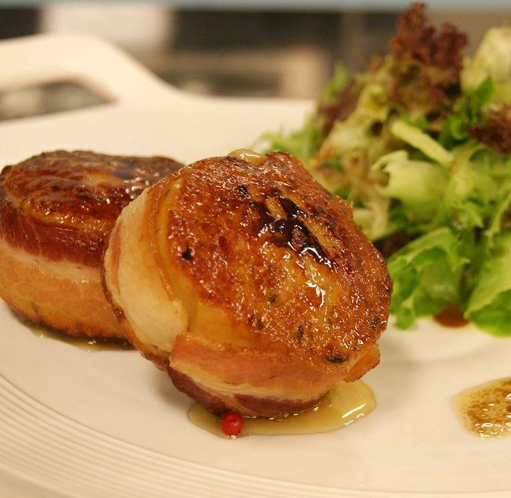 Hambúrguer de Frango Recheado