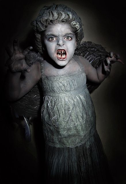 scary scary scary tiny weeping angel!!!!: Scary Costumes, Angel Kids, Weeping Angel Costumes, Kid Costumes, Tiny Weeping, Scary Tiny, Scary Scary, Weeping Angels, Scary Kids Costumes