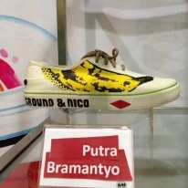Lee Cooper & Centro Painting On Sneakers Competition