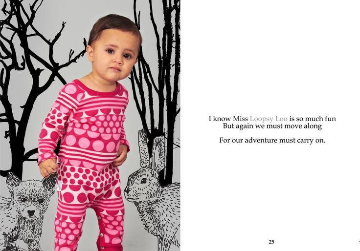 SOOKIbaby | AW'15 | Childrens Fashion | Worn by a Funky Monkey | www.sookibaby.com.au | LOOPSY LOO