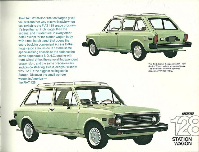 fiat 128 ad- -Flickr: The Auto Werbung - ADVERTISING - Ads Pool