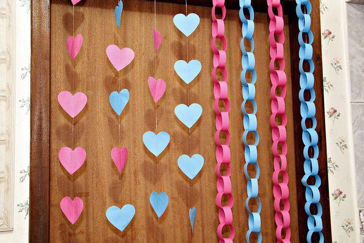 o que usar no fundo da mesa do bolo, decorar a parede ...