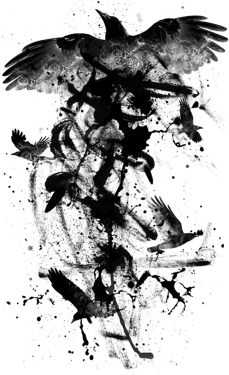 Graphisme hors commande - Raven                                                                                                                                                                                 More