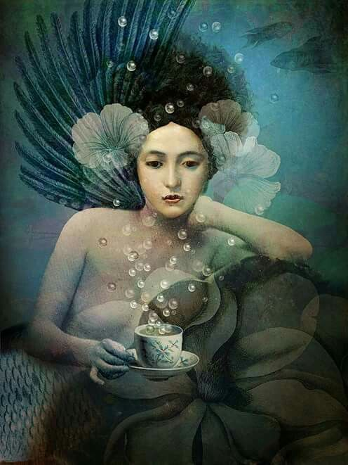 Catrin Welz-Stein - Under the Sea Digital Artwork