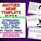 "Meme Activity ""Some ECard"" for Icebreaker, Bell Ringer, Exit Slip"