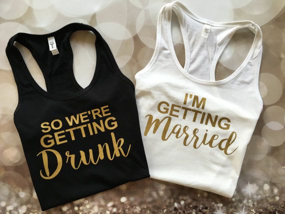 I'm getting married, So we're getting drunk, Bachelorette Party Tanks, Squad Trucker Hat, bachelorette party, we are what happens in vegas, vegas bachelorette, bride squad hats, bride hat, squad hat, bridesmaid shirts, bridesmaid hat, bachelorette party hats, bachelorette party shirts, buy me a shot I'm tying the know, bride's drinking team