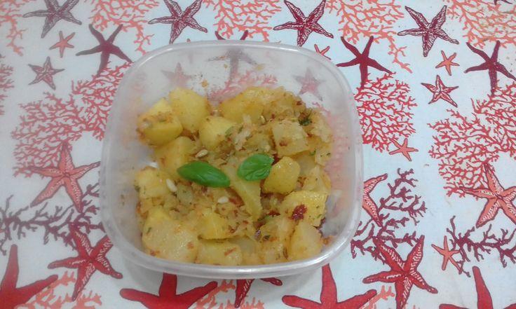 """""""Insalata Di Patate Con Pesto Di Pomodori Secchi""""...!!!"""