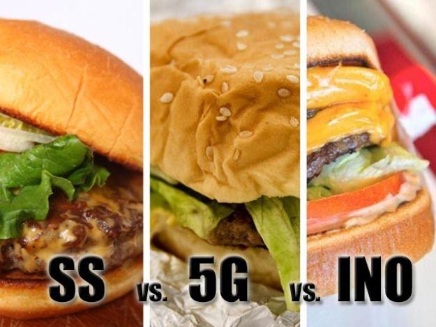 In-N-Out vs. Five Guys vs. Shake Shack: The First Bi-Coastal Side-By-Side Taste Test
