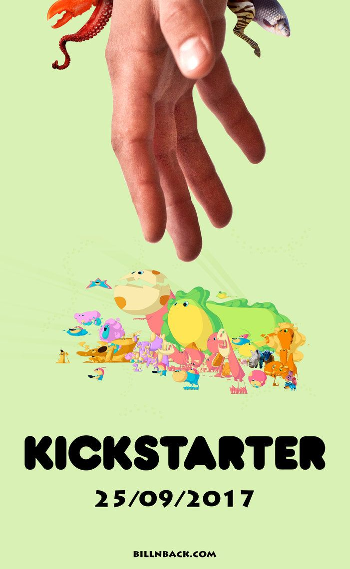 Bill N Back will be on Kickstarter next Monday, September 25th! Not only that, but a one minute trailer will be released as well! Stay tuned for the big launch in 5 days!