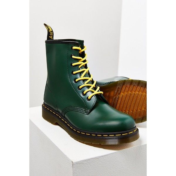 Dr. Martens 1460 Smooth Boot ($125) ❤ liked on Polyvore featuring shoes,