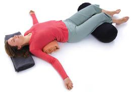 Restorative Yoga for Chronic Pain #Yoga #RestorativeYoga #RestorativePose