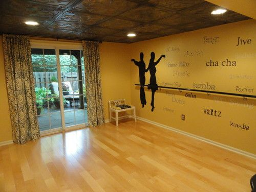 Dance Studio Traditional Basement Philadelphia