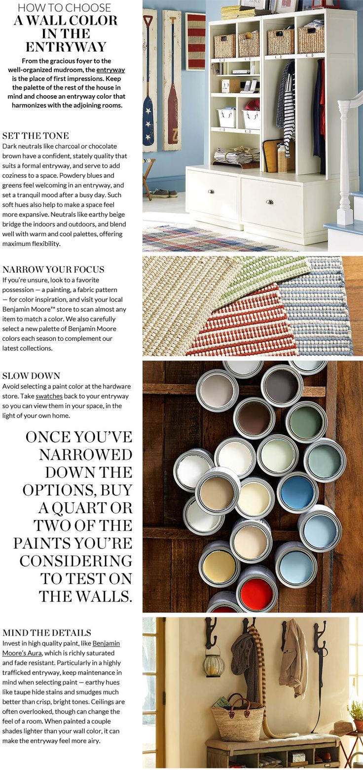 Entryway Paint Colors & Paint Colors for Entryway
