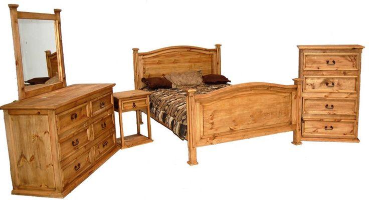 Mansion Rustic Bedroom Furniture Set