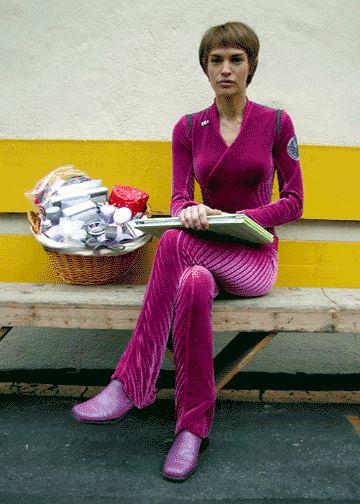 #jolene blalock #t'pol #vulcan #star trek #star trek: enterprise #ent #behind the scenes