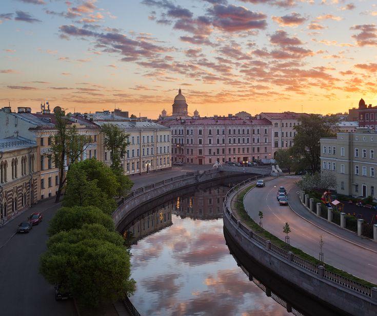 Канал Грибоедова, Львиный мостик — National Geographic Россия