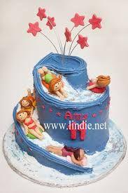Image result for waterslide cake