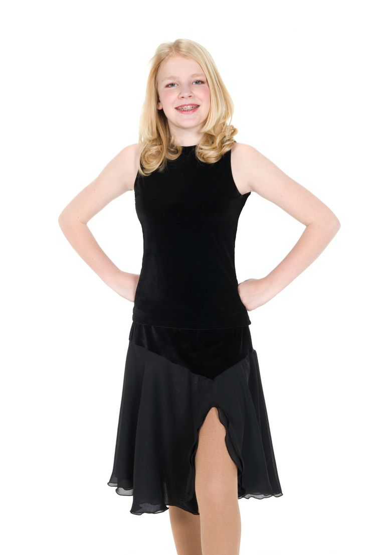 ice dance skirt