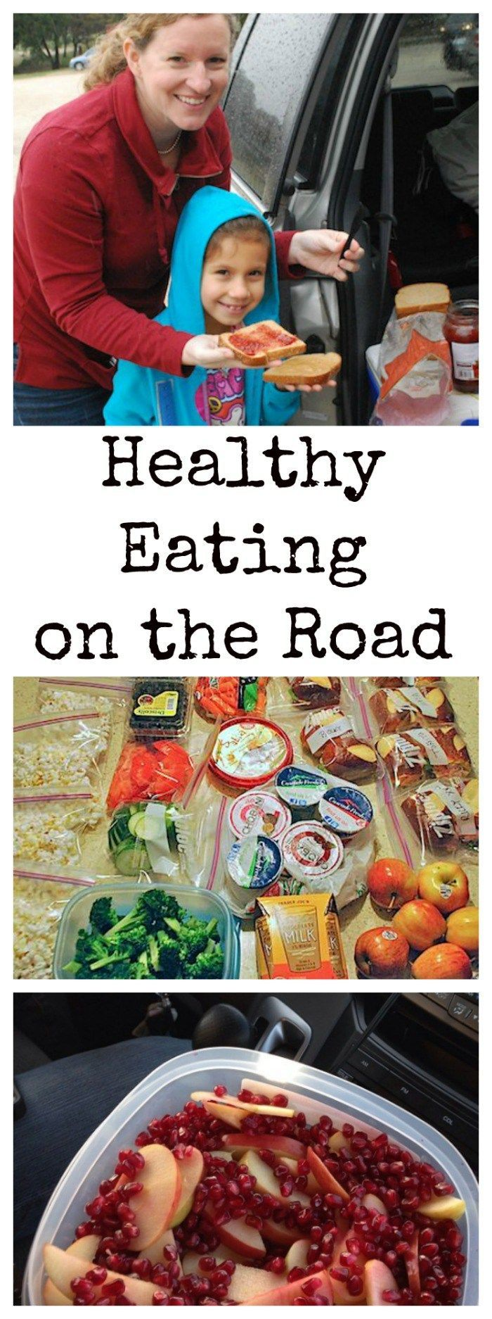 Healthy Food for Road Trips: you do not have to survive off gas station snacks! Here are some healthy and easy snacks that same time and money on road trips.