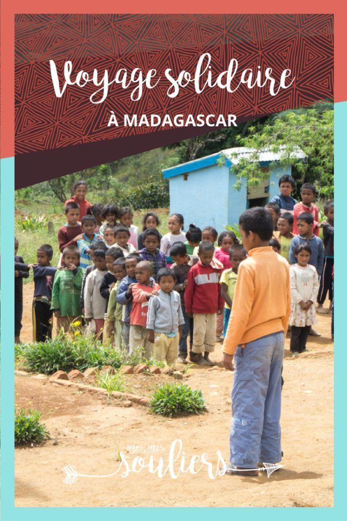 Récit de mon voyage solidaire à Madagascar - Tourisme villageois, dormir chez l'habitant, nuitées durables avec Village Monde.