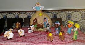 Coisinhas da Flafy: Presépio de Natal