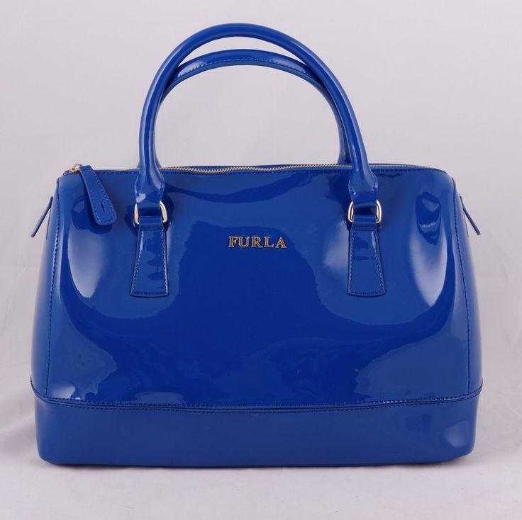 Сумка Furla (Фурла) Candy синего цвета