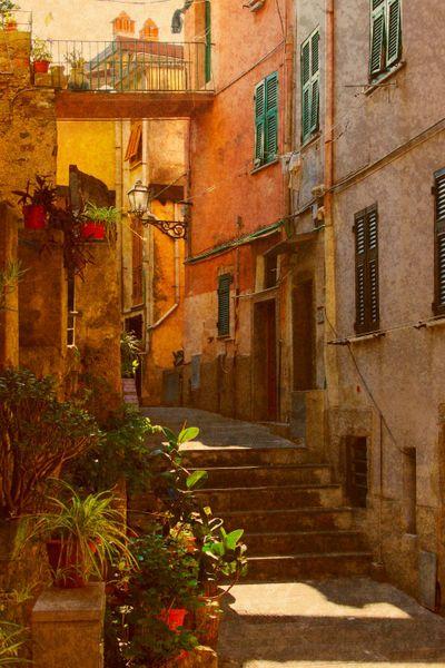 Riomaggiore, Cinque Terre, Province of La Spezia , Liguria Italy