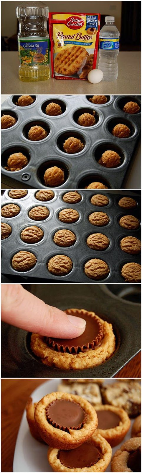 Reese's Peanut Butter Cup Cookies - My mother in-law makes these and they are AWESOME