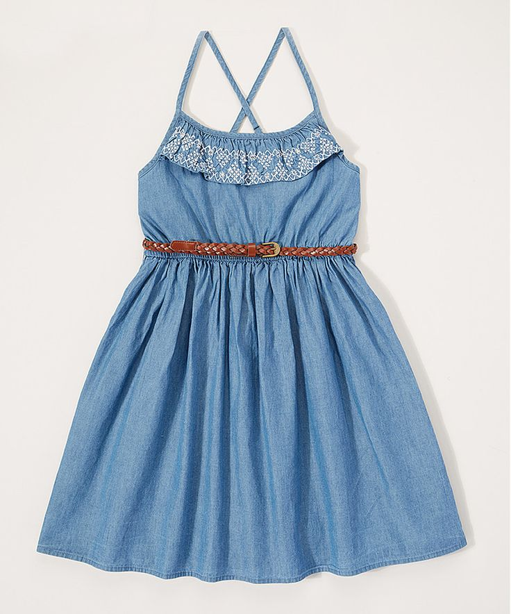 Take a look at this p.s. from Aéropostale Blue Ruffle Dess - Girls today!