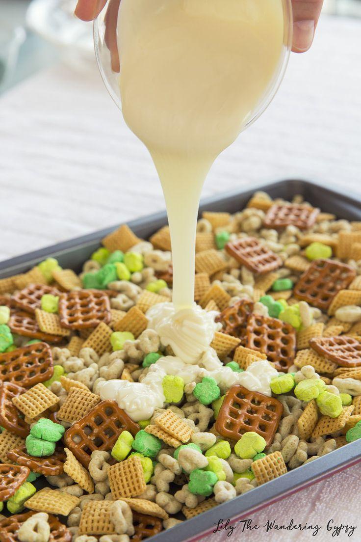 St. Patrick's Day Snack Mix Recipe