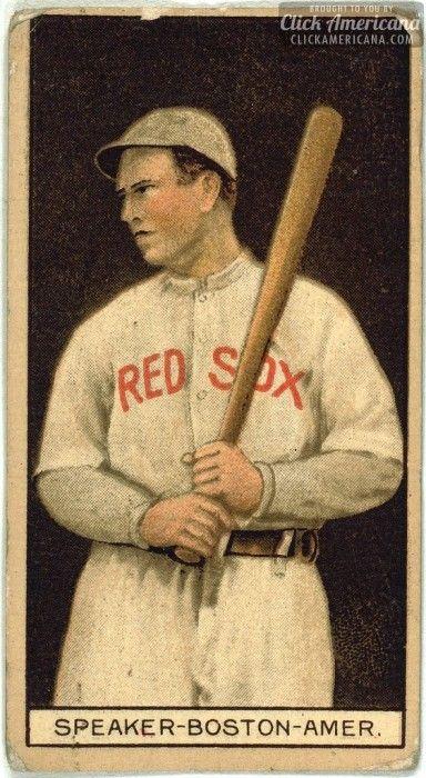 Tris Speaker baseball cards