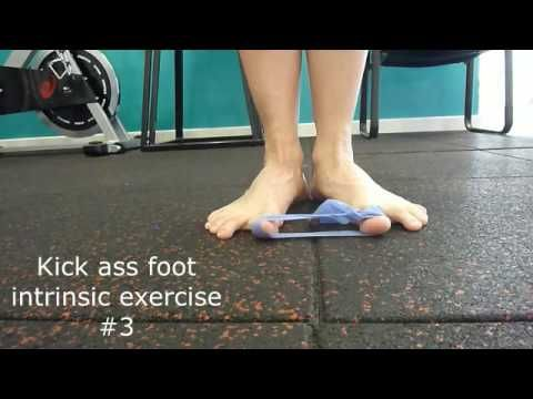 Kick Ass Foot intrinsic exercises #3 - AHL