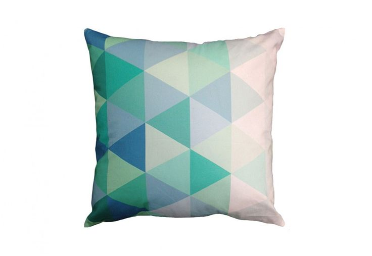 Gift Idea - Kaleidoscope cushion. Available in 3 colours, under $30 | Super A-Mart