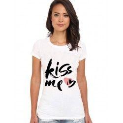 KISS ME / T-shirt tendance 2017 unique et fait-main