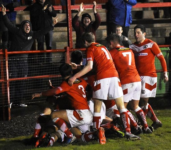Workington Reds see off Hartlepool in FA Trophy upset https://www.cumbriacrack.com/wp-content/uploads/2017/12/The-Reds-celebrate-Allisons-winning-goal-against-Hartlepool-Ben-Challis.jpg Workington Reds have advanced into the last thirty two of the FA Trophy with a well deserved if close 1-0 win over Hartlepool United at a freezing Borough Park on Saturday afternoon    https://www.cumbriacrack.com/2017/12/18/workington-reds-see-off-hartlepool-fa-trophy-upset/