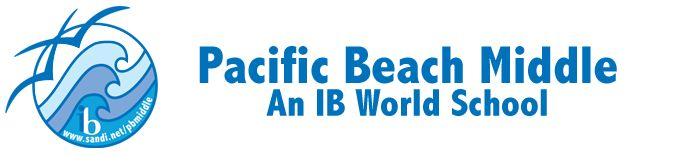 Pacific Beach Middle School is one of the few schools in PB that offers the International Baccalaureate (IB) program.